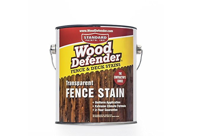 Wood Defender – Transparent Fence Stain (1 Gallon)